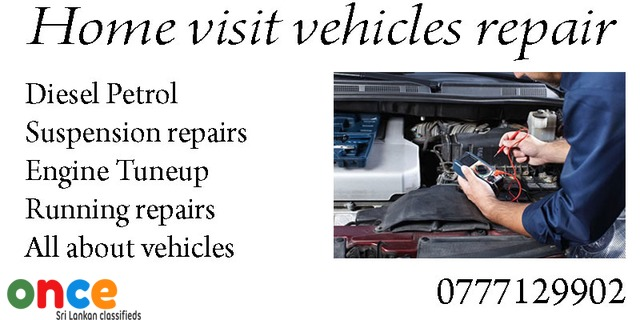 Home visit vehicles repairs