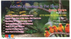 Anuhas Aquarium & Pet Shop