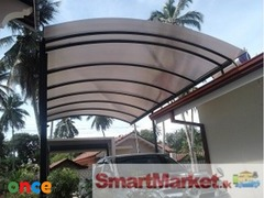 Car port Window Canopy  Using UV Resist Transparent Polycabonate O77O5OO352