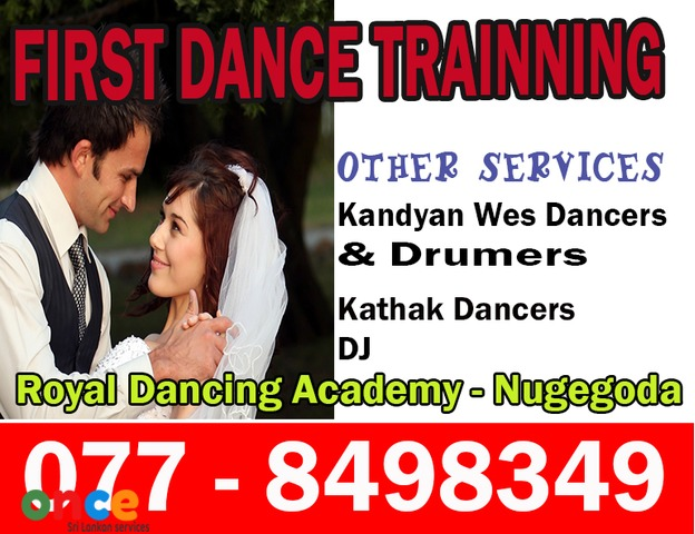 Wedding First Dance Training/Traditional  Wes  Dancers   &  Drummers/Ashtaka,  Jayamangala  Gath