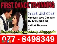 Wedding First Dance Training/Traditional  Wes  Dancers   &  Drummers/Ashtaka,  Jayamangala  Gath