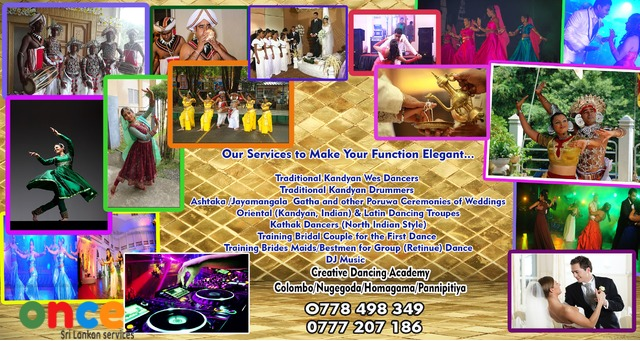 Dancers,Drummers,DJ music & other Wedding Services