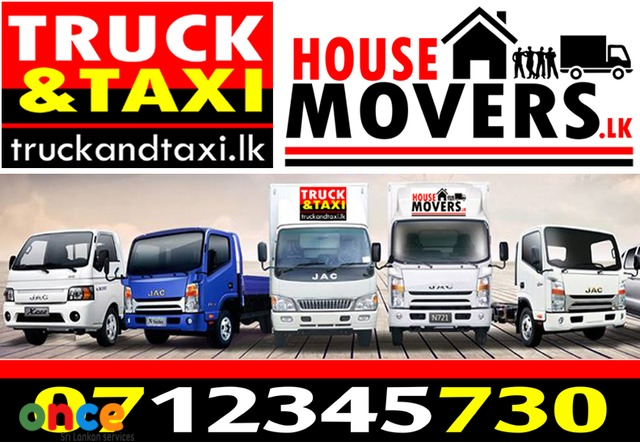 LORRY FOR HIRE WITH MOVERS 07-12345-730