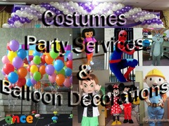Party Arrangements/ Events Arrangement / Birthday Parties / Hall Decorations/ Costume services/ Kids