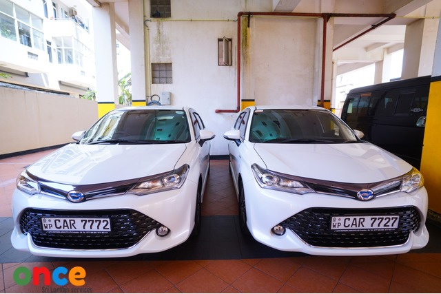 TOYOTA AXIO WXB, BRAND NEW 2016 BY RECHARGE TOURS-0777863333