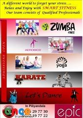 Social Dancing, Zumba, Aerobics, Yoga, Karate @ Piliyandala
