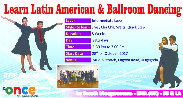 Learn Latin American & Ballroom Dancing – Intermediate Level
