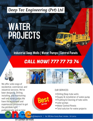 Deep Tube well & submersible pumps Malabe - once lk | Find
